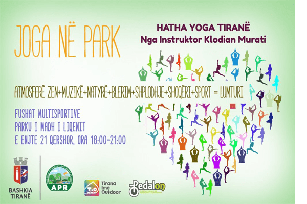 Yoga at the Park Tirana