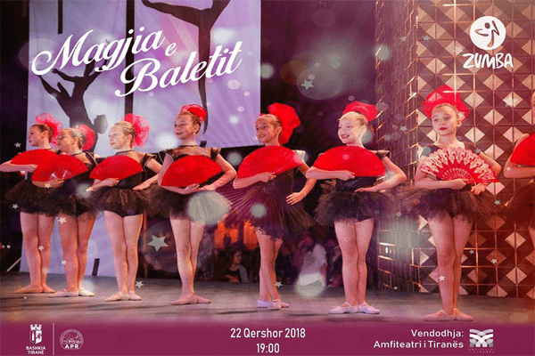 concert ballet Tirana