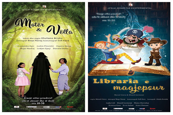 theatre for kids in tirana, events in tirana