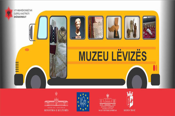 mobile museum in tirana, museum in tirana, events in tirana