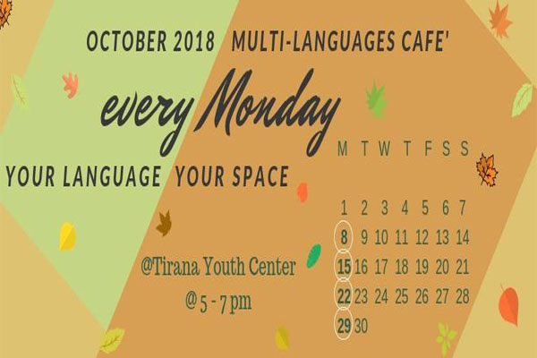multi-languages 2018 in tirana, events in tirana