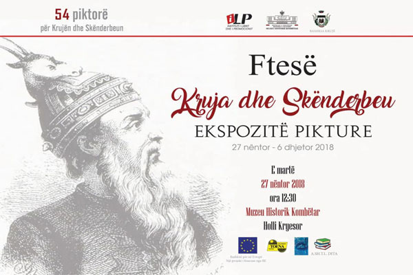paintings exhibition scanderbeg and kruja, exhibition in tirana, events in tirana