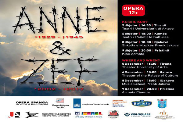 Anne & Zef Opera, opera in tirana, events in tirana
