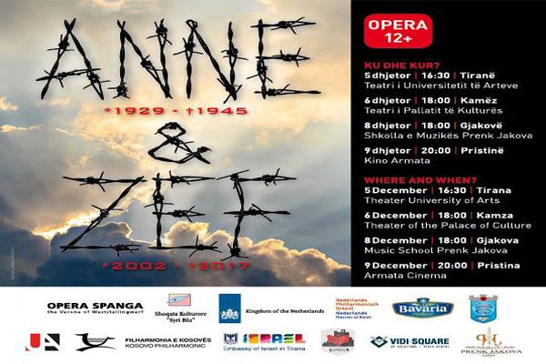 Anne & Zef Opera, opera ne tirane, evente ne tirane