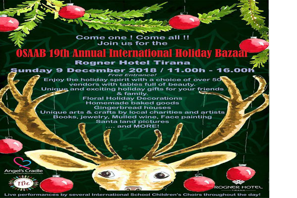 The OSAAB 19th Annual International Holiday Bazaar