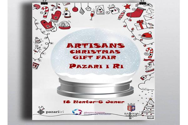 Artisans gift Fair at New Bazaar in Tirana