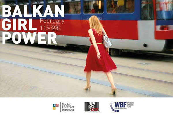The Balkan Girl Power Exhibition in Tirana