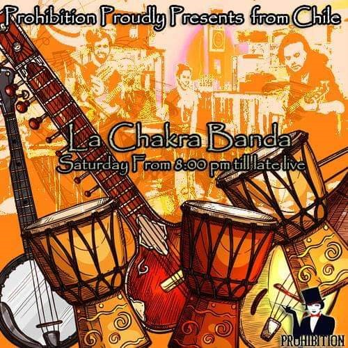 La Chakra Band performon në bar Prohibition Tirane muzike live