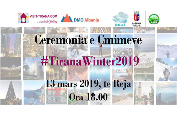 #TiranaWinter2019 awards ceremony Tirana, events in Tirana, photographers in Tirana Albania