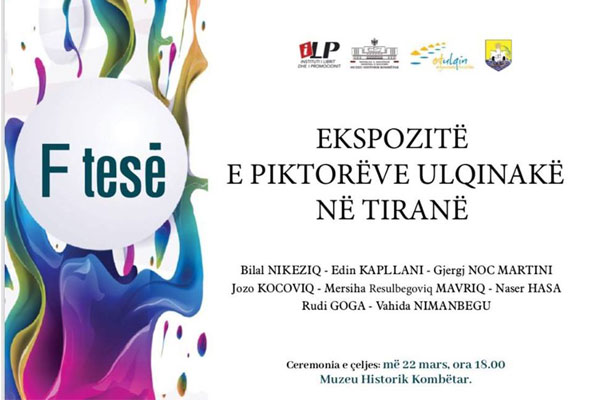Ulcinj's painters exhibition Tirana