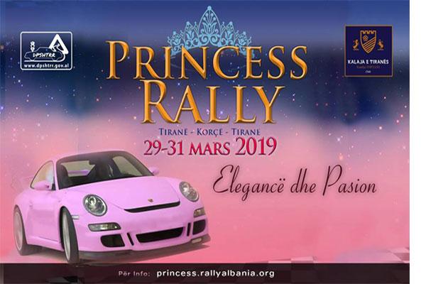 Princess Rally Albania 2019 Gara me makina ne Tirane, evente ne Tirane