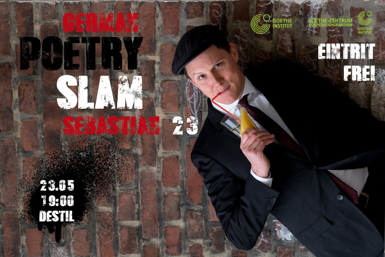 Poetry Slam by Goethe-Zentrum