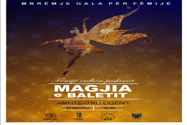 Ballet show for kids at Tirana Amphitheater