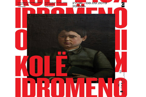 Kolë Idromenos retrospective exhibition
