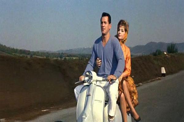 """Gina Lollobrigida in """"Back in September"""""""