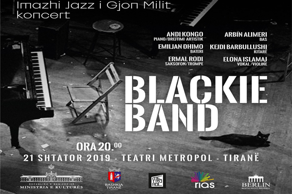Gjon Milli's Jazz Image- concert at Metropol Theater