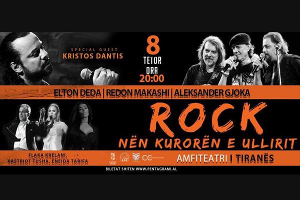 Koncert rroku Amfiteatri i Tiranes