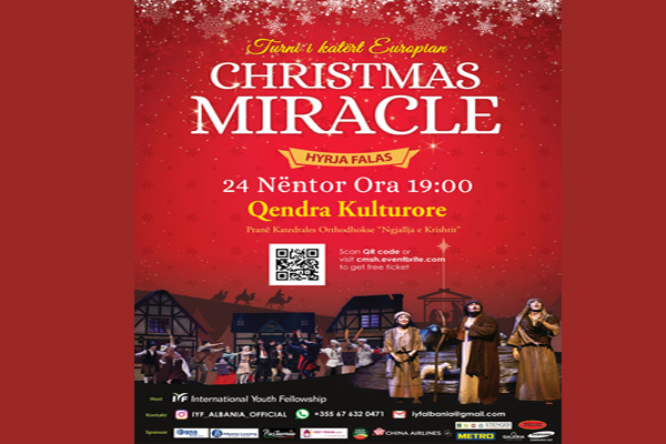 Christmas Miracle musical show