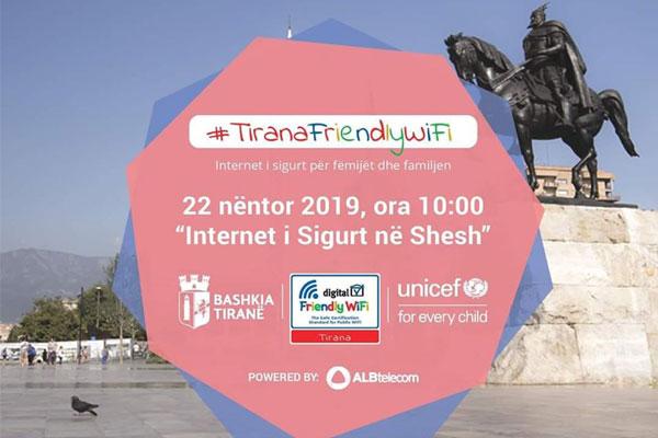 Tirana Friendly Wi-Fi