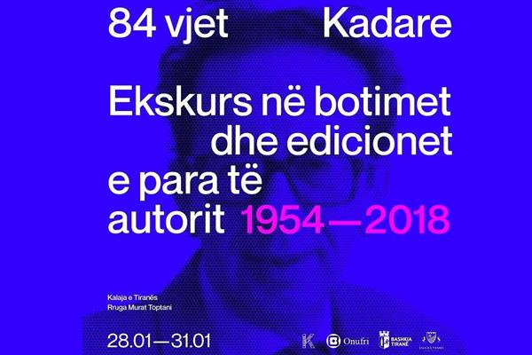84 years Kadare