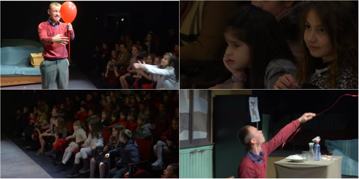 Red Balloon, Albanian theater for children