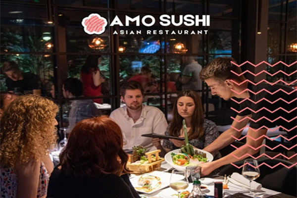 """Amo Sushi the first Asian restaurant """"ALL YOU CAN EAT"""" in Albania"""