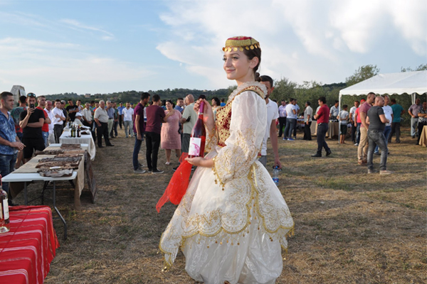 Festa n' Shesh, an annual wine Festival in Tirana