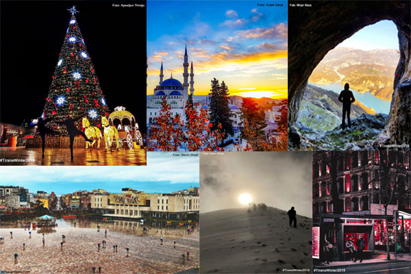 Winners of #TiranaWinter2019 photo contest announced