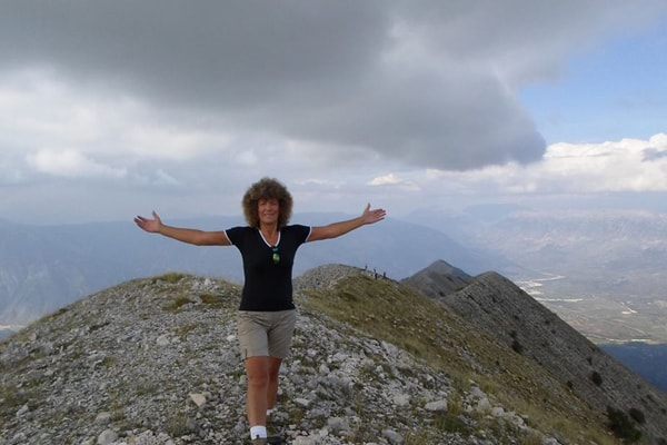 Meet the Albanian gangsta grandma who climbs the mountains with her grandson