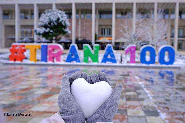 Top 10 photos of winter in Tirana