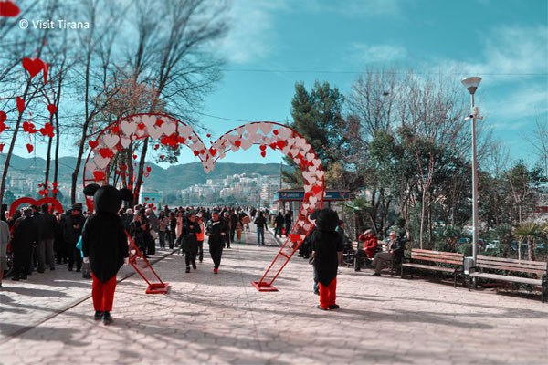Valentine Day in Tirana-photo gallery