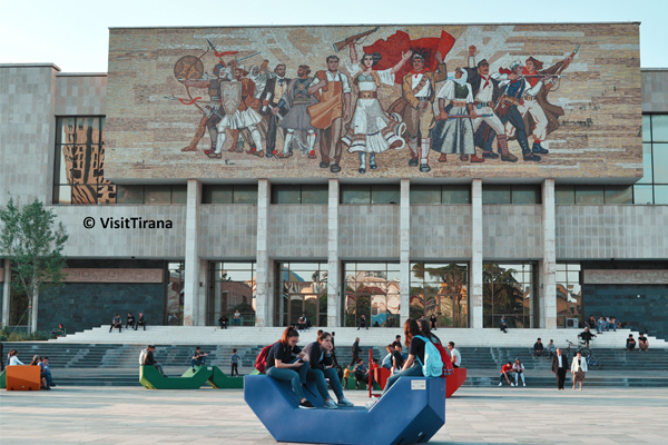 Tirana's Skanderbeg square wins another prize