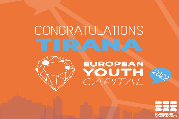 Tirana European Youth Capital 2022