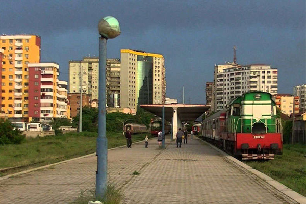 Train Station in Tirana