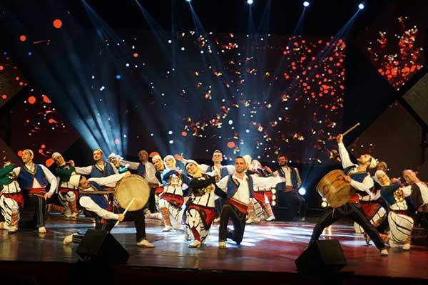 balli e danza albanese