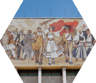 Visit Tirana, Tirana travel guide, Skanderbeg Monument and Square in Tirana, The Pyramid in Tirana