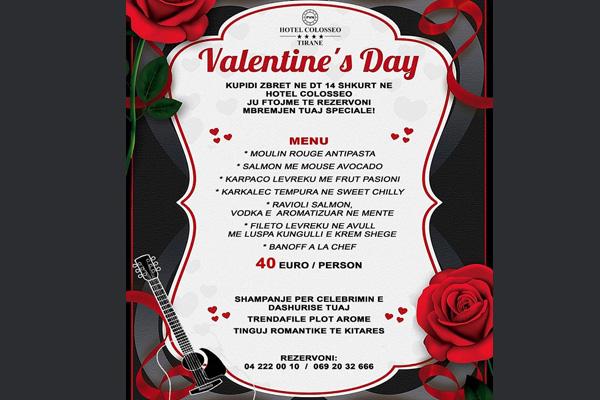 Valentine's Day in Tirana