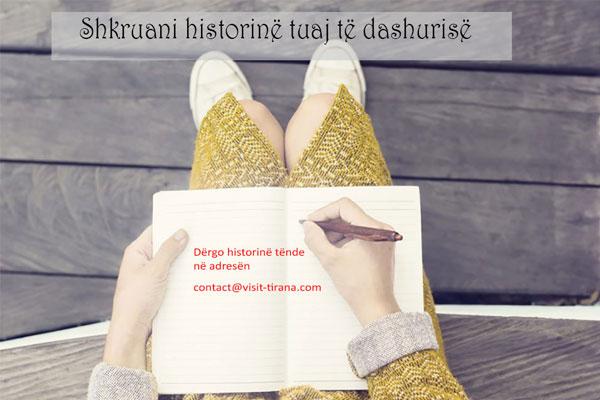 Shkruaj historinë tënde të dashurisë dhe shpërblehu