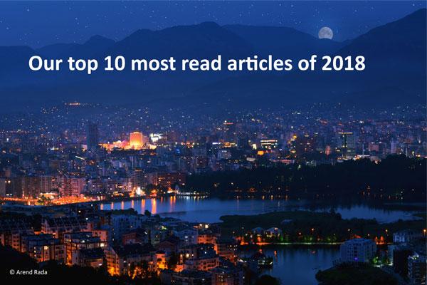 Artikujt më të lexuar të Visit Tirana në 2018