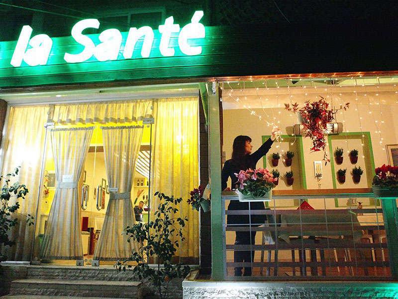 A la sante restaurant in Tirana