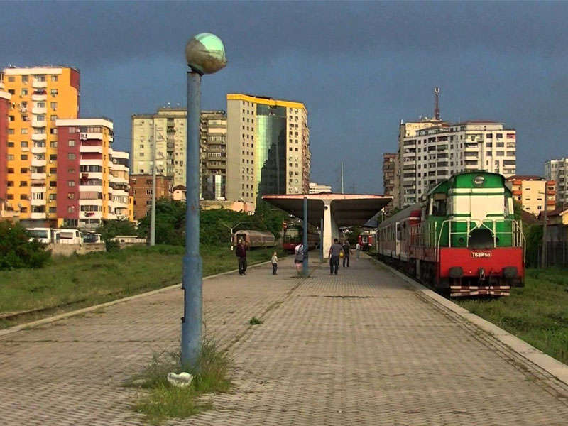Tirana trains Transport