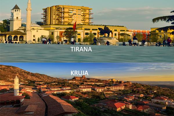 Tirana-Kruje daytrip visit tirana