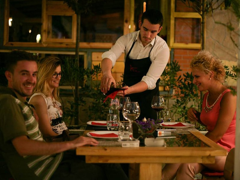 Restaurant Vila 99 ne Tirane