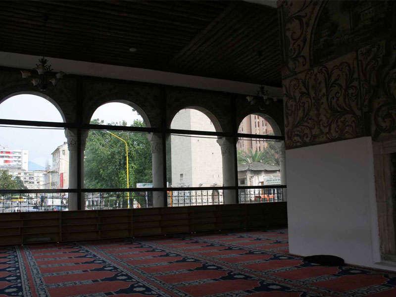 la moschea di Ethem Bey Tirana, Albania