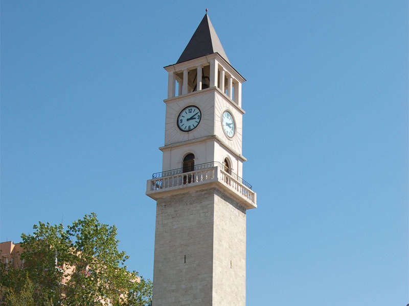 Clock Tower in Tirana