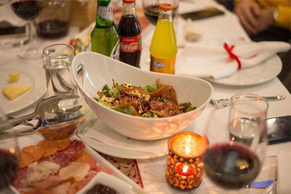 Hotel Colosseo ristorante a Tirana, ristoranti a Tirana, migliori ristoranti a Tirana, cibo albanese