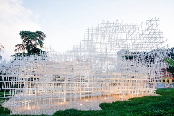 The Cloud of Sou Fujimoto Tirana, art installations in Tirana, attractions in Tirana