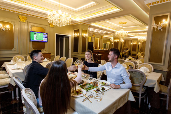 Elite Palace restaurant in Tirana, Best restaurants in Tirana, Best restaurants Tirana Albania