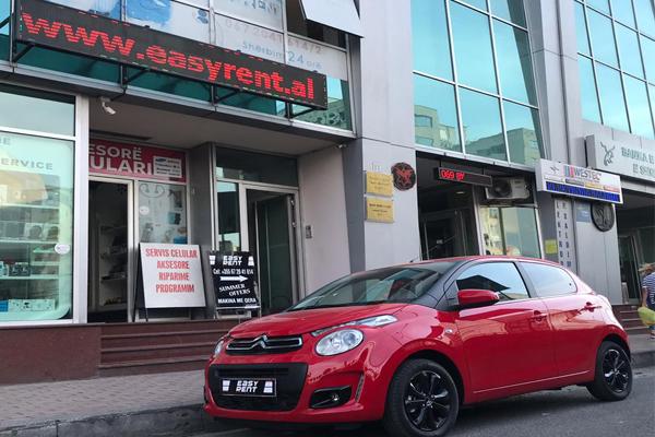 EasyRent car rental Tirana Albania, rent a car in Tirana, Tirana rental cars