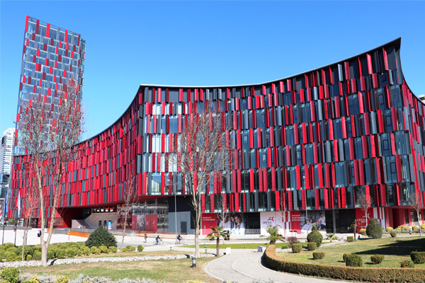 Arena Center shopping mall Tirana Albania
